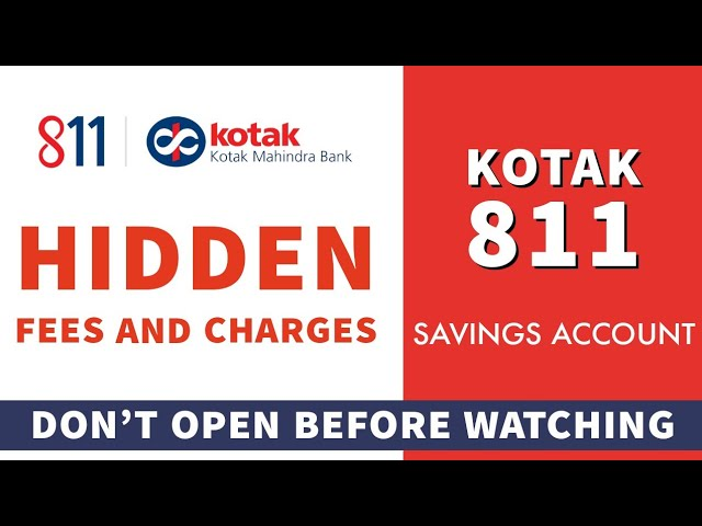 Download Dont Open Kotak 811 Account before watching this   Hidden fee & Charges MP3 Gratis