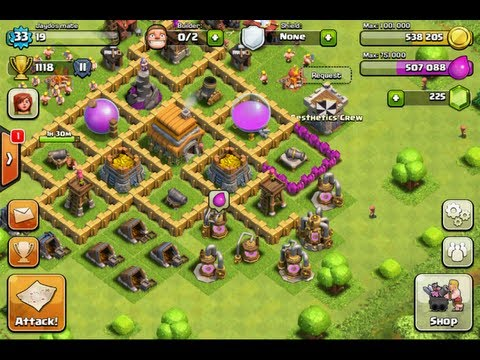 Clash of the Clans!!! Quality Issues - Need Help Plz