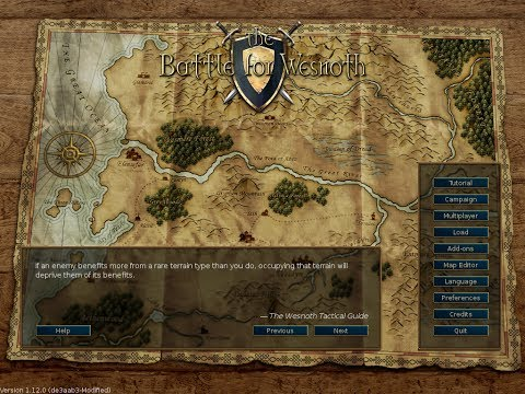 Turn Based Strategy: The Battle for Wesnoth