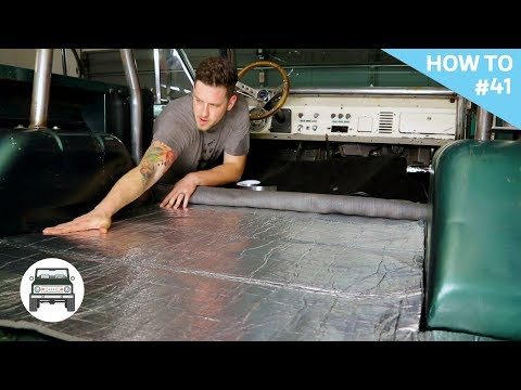 Installing a new carpet kit and insulation! H2#41