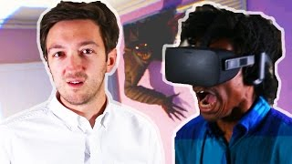 People Try Virtual Reality Horror