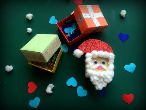 Christmas Gift Box Making: Christmas Craft DIY | DIY Gift Ideas