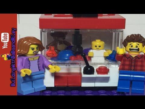 LEGO Tutorial - How to make a LEGO Claw Machine