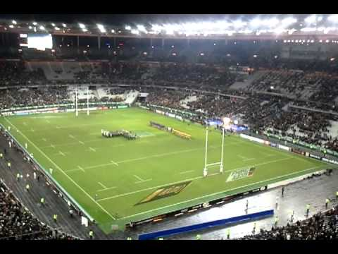 Stade de france -  France-Australia anthem