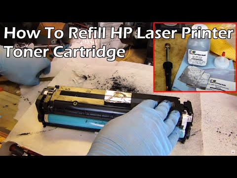 HP Laser Printer Toner Refill - CE320A