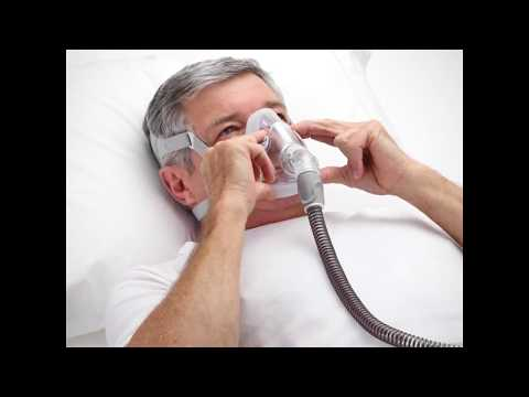 AirTouch F20 CPAP Mask Video User Guide - Fitting