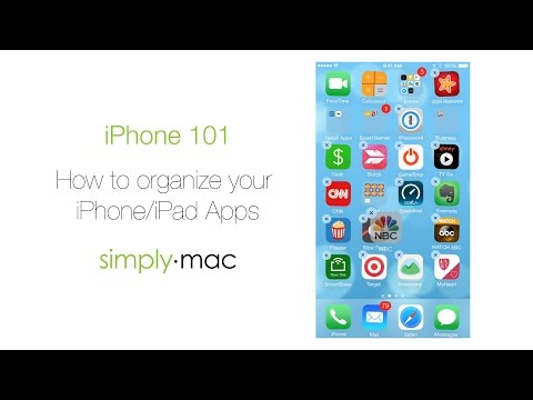 How to organize the Apps on your iPhone or iPad Home Screen