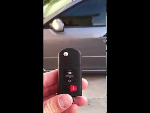 Mazda 6 Keyless Entry Reprogramming Key Fob