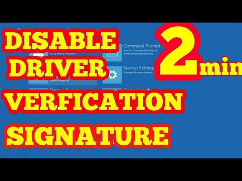 DISABLE DRIVER SIGNATURE ENFORCEMENT IN WINDOWS 7,8,10 For HP,Dell,Lnenovo,acer,asus 32bit&64bit