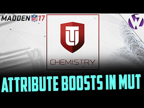 CHEMISTRY WILL BOOST OVERALL AND ATTRIBUTES!! MADDEN 17 ULTIMATE TEAM CHEMISTRY INFO!!