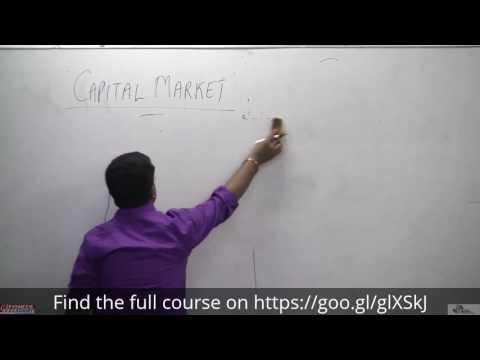 1. Capital Market - Finance, Economics, General Studies, SSC, Pioneer Academy