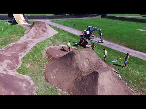 NASS BMX Dirt Jumps Build 2017