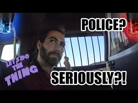 I Got Arrested Dumpster Diving?!?!