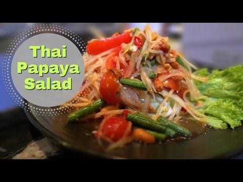 Thai Papaya Salad recipe ❤️️