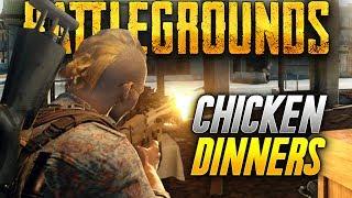 Battlegrounds: MORE GROZA CHICKEN DINNER! (Playerunknown