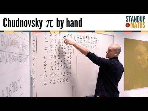 Calculating π by hand: the Chudnovsky algorithm