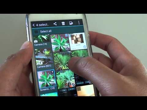 Samsung Galaxy S5: How to Copy Multiple Photos to a Different Album