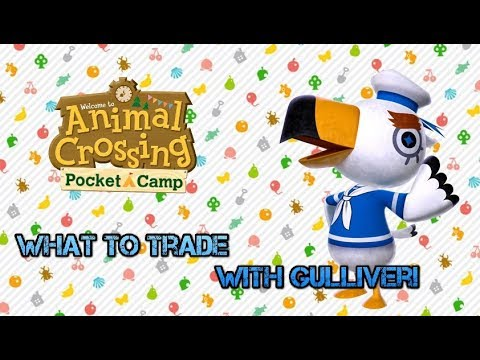 Animal Crossing: What To Trade With Gulliver! (Help Getting New Villagers!)