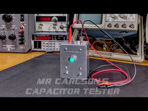 Invention Release! Carlson LV Capacitor Leakage Tester.