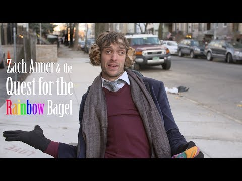 Zach Anner & The Quest for the Rainbow Bagel