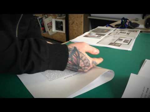 How to make a design portfolio book