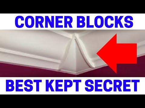 Crown Molding Corner Blocks Will Save You A HUGE Headache