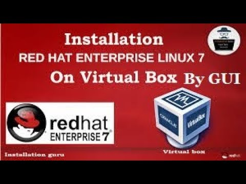How to Install RHEL - 7 by GUI, Part - 1, Video No - 7