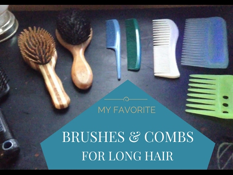 My Favorite Hair Brushes & Combs For Long Hair