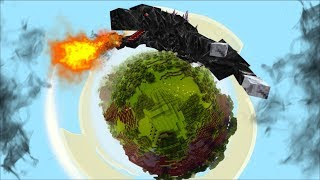 GIANT GODZILLA APPEARS ON MY MINECRAFT WORLD !! Minecraft Mods