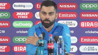 Virat Kohli Post Match Press Conference After New Zealand beat India by 18 runs to enter final #CWC