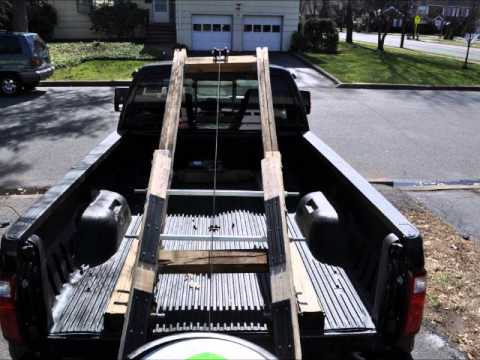Jet ski trailer replacement, lift trailer