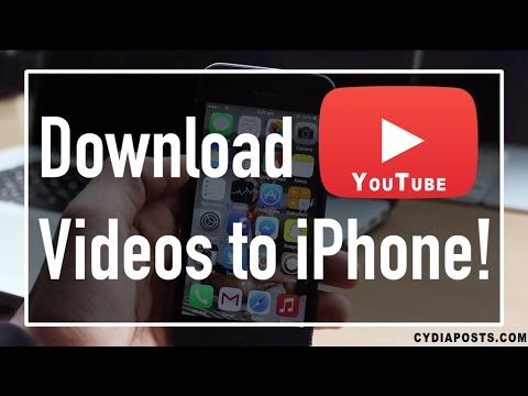 How to download YouTube videos directly onto IPhone or ipad - No jailbreak no pc