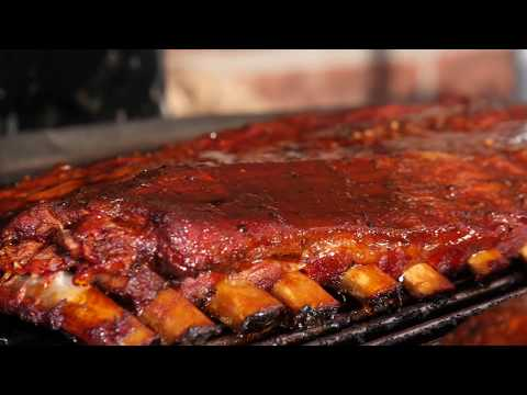 Smoked Pork Ribs - St. Louis Style