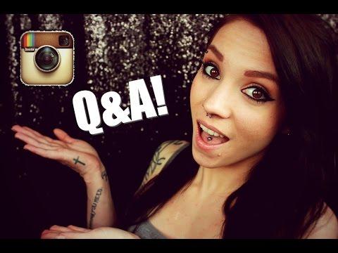 Instagram Q&A! | Cheating, Dog Breeds, & Piercings/Tattoos