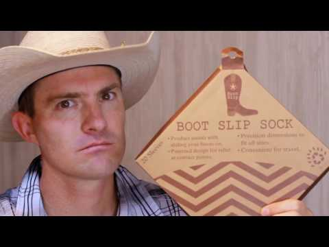 Easy ways to put on Boots, cowboy boots, kneehigh boots