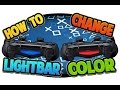 How to Change PS4 Controller Light Bar Color