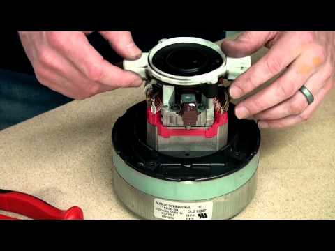 How to fit Carbon Brushes - Henry Vacuum Cleaner Motor