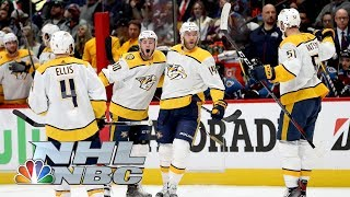 Nashville Predators bounce Avalanche, move on to face Jets I NHL Stanley Cup Playoffs I NBC Sports