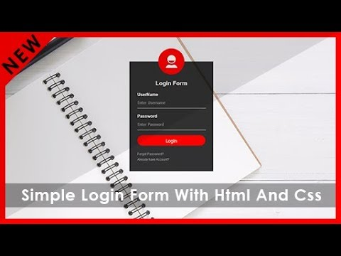 How To Create Awesome Login Form using HTML and CSS | Beautiful Sign In Form Design | Coding Tricks