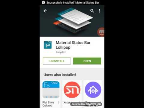 How to download notification background color