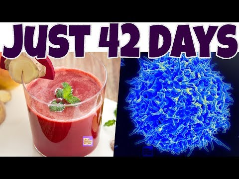 KILL CANCER CELLS in 42 Days with BREUSS DIET. Drink Vegetables Juice to CURE CANCER NATURALLY