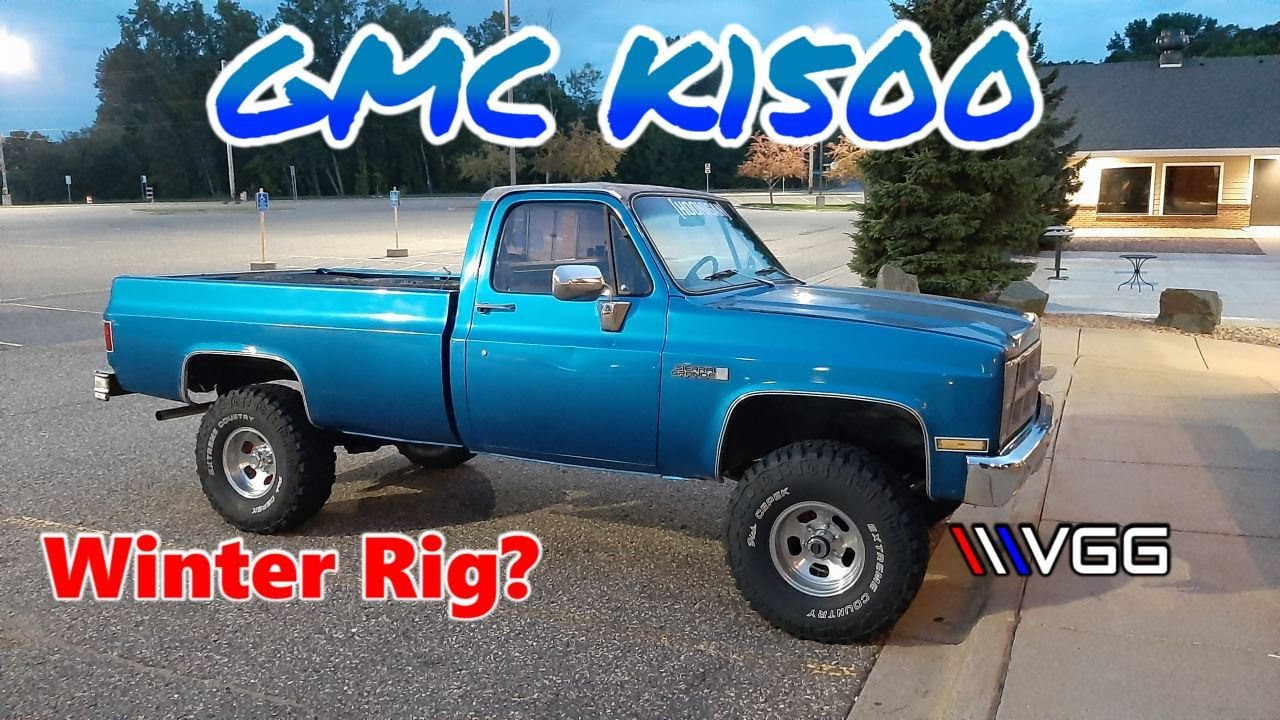 My New Square Body Truck! 1981 GMC K1500 - Vice Grip Garage EP98