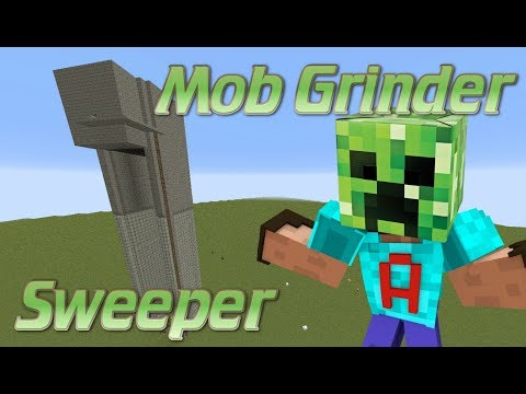 How to make a mob farm with no water | Sweeper Mob Farm Tutorial | Minecraft Tutorial