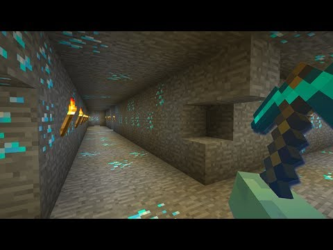 How To FIND Diamonds in Minecraft Pocket Edition (Gold Rush Challenge)
