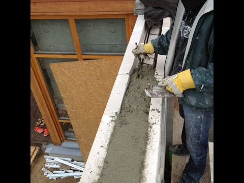 How To Install a Lintel  -   Aerated Concrete Walls