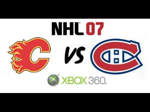NHL 07 - Calgary Flames vs Montreal Canadiens - Stanley Cup Finals Game 1