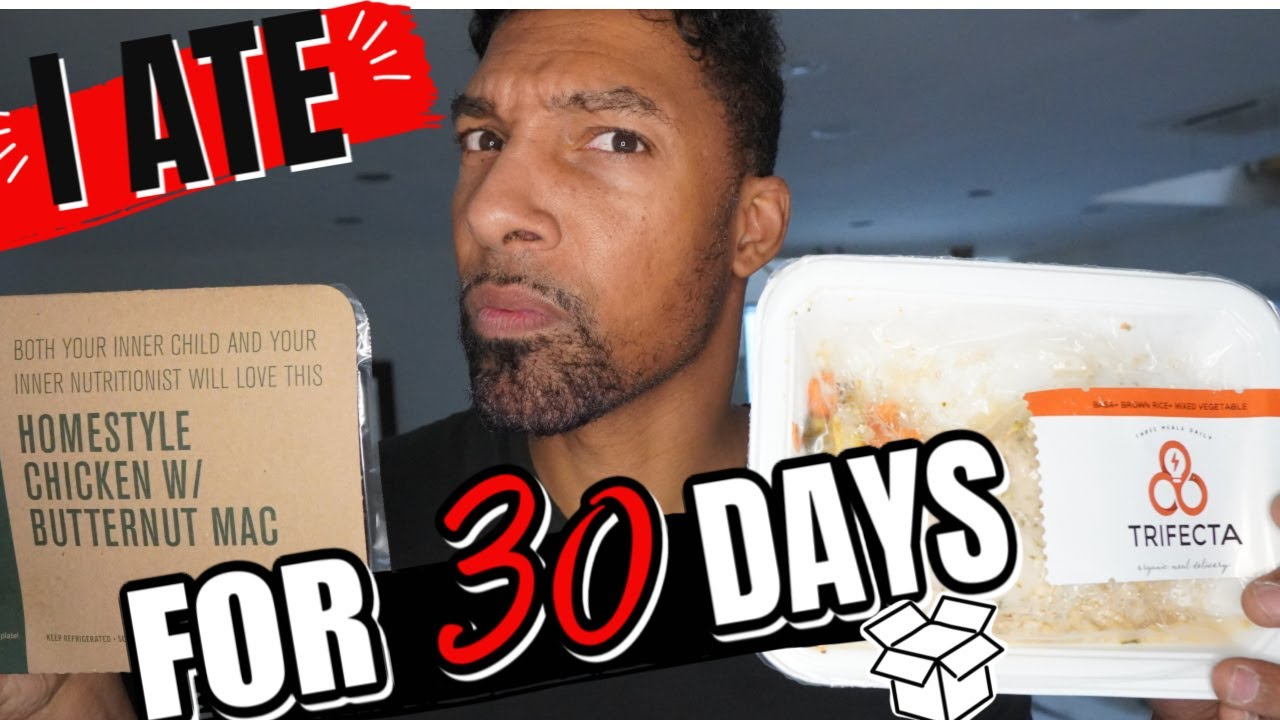 I ATE MEAL DELIVERY SERVICE FOR 30 DAYS | Trifecta vs Freshly | Honest Review