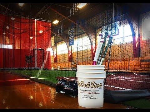 Installing a Retractable Indoor Batting Cage