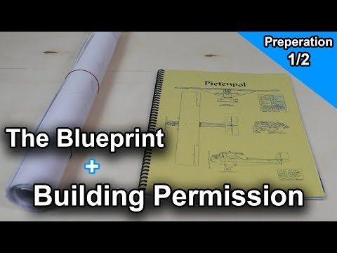The Blueprint + Building Permission  [Preperation 1/2] | Build your own Airplane !