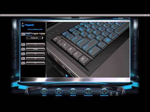 alienware how to change color of the keyboard (led)